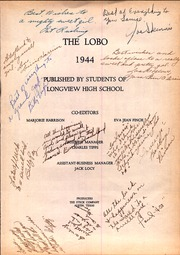 Page 3, 1944 Edition, Longview High School - Lobo Yearbook (Longview, TX) online yearbook collection
