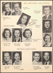 Page 12, 1952 Edition, Longview High School - Lobo Yearbook (Longview, TX) online yearbook collection