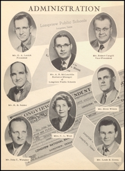 Page 8, 1952 Edition, Longview High School - Lobo Yearbook (Longview, TX) online yearbook collection