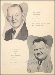 Page 9, 1952 Edition, Longview High School - Lobo Yearbook (Longview, TX) online yearbook collection