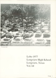Page 5, 1977 Edition, Longview High School - Lobo Yearbook (Longview, TX) online yearbook collection