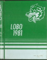 Page 1, 1981 Edition, Longview High School - Lobo Yearbook (Longview, TX) online yearbook collection