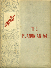 1954 Edition, Plano High School - Planonian Yearbook (Plano, TX)