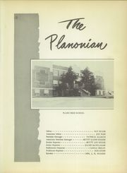 Page 5, 1954 Edition, Plano High School - Planonian Yearbook (Plano, TX) online yearbook collection