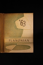 1963 Edition, Plano High School - Planonian Yearbook (Plano, TX)