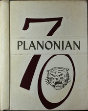 1970 Edition, Plano High School - Planonian Yearbook (Plano, TX)