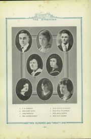 Page 12, 1921 Edition, Sherman High School - Athenian Yearbook (Sherman, TX) online yearbook collection