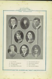 Page 13, 1921 Edition, Sherman High School - Athenian Yearbook (Sherman, TX) online yearbook collection