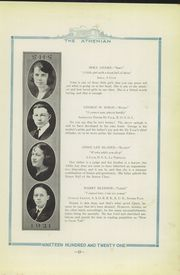 Page 17, 1921 Edition, Sherman High School - Athenian Yearbook (Sherman, TX) online yearbook collection