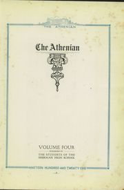 Page 7, 1921 Edition, Sherman High School - Athenian Yearbook (Sherman, TX) online yearbook collection