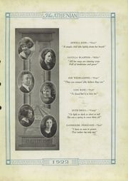 Page 11, 1922 Edition, Sherman High School - Athenian Yearbook (Sherman, TX) online yearbook collection