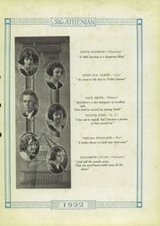 Page 13, 1922 Edition, Sherman High School - Athenian Yearbook (Sherman, TX) online yearbook collection