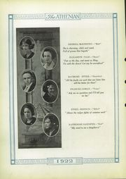 Page 16, 1922 Edition, Sherman High School - Athenian Yearbook (Sherman, TX) online yearbook collection