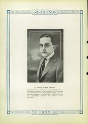 Page 4, 1922 Edition, Sherman High School - Athenian Yearbook (Sherman, TX) online yearbook collection