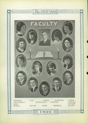 Page 6, 1922 Edition, Sherman High School - Athenian Yearbook (Sherman, TX) online yearbook collection