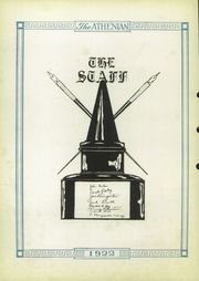 Page 8, 1922 Edition, Sherman High School - Athenian Yearbook (Sherman, TX) online yearbook collection