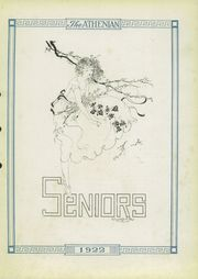 Page 9, 1922 Edition, Sherman High School - Athenian Yearbook (Sherman, TX) online yearbook collection