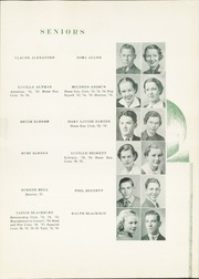 Page 17, 1937 Edition, Sherman High School - Athenian Yearbook (Sherman, TX) online yearbook collection