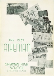 Page 7, 1937 Edition, Sherman High School - Athenian Yearbook (Sherman, TX) online yearbook collection