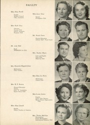 Page 17, 1951 Edition, Sherman High School - Athenian Yearbook (Sherman, TX) online yearbook collection