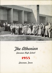 Page 5, 1955 Edition, Sherman High School - Athenian Yearbook (Sherman, TX) online yearbook collection
