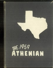 Page 1, 1959 Edition, Sherman High School - Athenian Yearbook (Sherman, TX) online yearbook collection