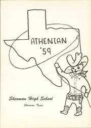 Page 5, 1959 Edition, Sherman High School - Athenian Yearbook (Sherman, TX) online yearbook collection