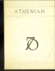 1970 Edition, Sherman High School - Athenian Yearbook (Sherman, TX)