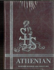 1981 Edition, Sherman High School - Athenian Yearbook (Sherman, TX)