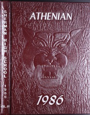 1986 Edition, Sherman High School - Athenian Yearbook (Sherman, TX)