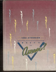 1988 Edition, Sherman High School - Athenian Yearbook (Sherman, TX)
