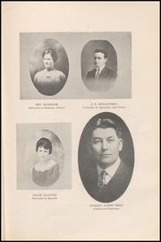 Page 15, 1919 Edition, Hillsboro High School - EL Aquila Yearbook (Hillsboro, TX) online yearbook collection