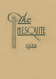 Page 1, 1922 Edition, Hillsboro High School - EL Aquila Yearbook (Hillsboro, TX) online yearbook collection