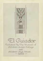 Page 7, 1935 Edition, Hillsboro High School - EL Aquila Yearbook (Hillsboro, TX) online yearbook collection