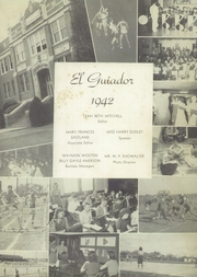 Page 7, 1942 Edition, Hillsboro High School - EL Aquila Yearbook (Hillsboro, TX) online yearbook collection