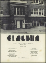 Page 5, 1950 Edition, Hillsboro High School - EL Aquila Yearbook (Hillsboro, TX) online yearbook collection