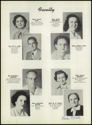 Page 14, 1951 Edition, Hillsboro High School - EL Aquila Yearbook (Hillsboro, TX) online yearbook collection
