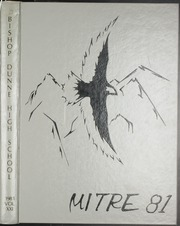 1981 Edition, Bishop Dunne High School - Mitre Yearbook (Dallas, TX)