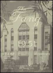 Page 5, 1951 Edition, Central Catholic High School - Fang Yearbook (San Antonio, TX) online yearbook collection