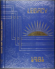 1981 Edition, Lakeview Centennial High School - Legacy Yearbook (Garland, TX)