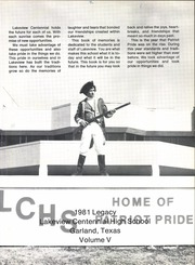Page 5, 1981 Edition, Lakeview Centennial High School - Legacy Yearbook (Garland, TX) online yearbook collection