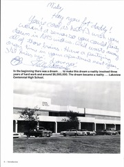 Page 8, 1982 Edition, Lakeview Centennial High School - Legacy Yearbook (Garland, TX) online yearbook collection