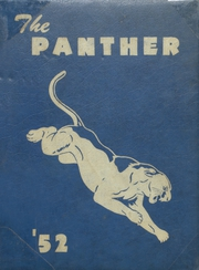 1952 Edition, Spring Hill High School - Panther Yearbook (Longview, TX)