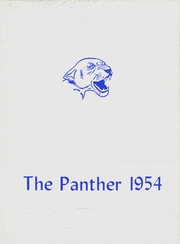 Page 1, 1954 Edition, Spring Hill High School - Panther Yearbook (Longview, TX) online yearbook collection