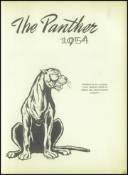 Page 7, 1954 Edition, Spring Hill High School - Panther Yearbook (Longview, TX) online yearbook collection