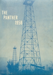 1958 Edition, Spring Hill High School - Panther Yearbook (Longview, TX)