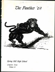 Page 5, 1963 Edition, Spring Hill High School - Panther Yearbook (Longview, TX) online yearbook collection