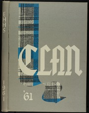 1961 Edition, Eastern Hills High School - Clan Yearbook (Fort Worth, TX)