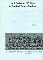 Page 8, 1963 Edition, Eastern Hills High School - Clan Yearbook (Fort Worth, TX) online yearbook collection