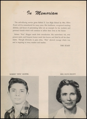 Page 10, 1954 Edition, Robert E Lee High School - Lee Traveler Yearbook (Baytown, TX) online yearbook collection